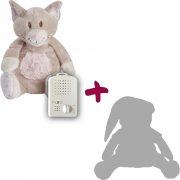 Doodoo Kitty + tartalék plüss a csomagban